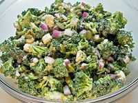 Broccoli Salad with Feta