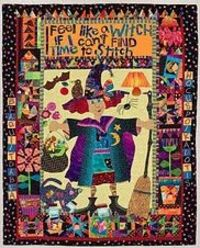 Mary Lou Weidman Art quilt