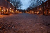 Christmas on Main St. Nantucket~ great memories
