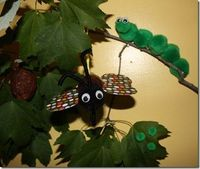 making a butterfly life cycle