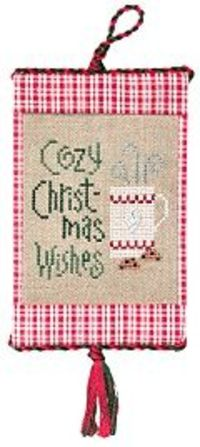 Free xmas cross stitch pattern.
