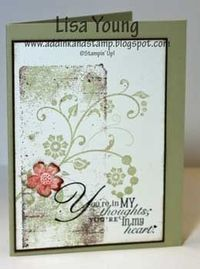 Add Ink and Stamp: Flowering Flourishes on Block Background