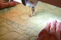Take your machine quilting skills in new directions. Ann Petersen teaches more than a dozen motifs to add depth and richness to your quilts. Enroll today in Beyond Basic Machine Quilting. Click the image or: http://www.craftsy.com/ext/20121202 ClassPin2