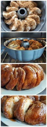 Christmas Morning Cinnamon Rolls - Click image to find more Food & Drink Pinterest pins