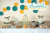 Bubbles Baby Shower