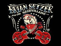 Brian Setzer and the Nashvillains Poster