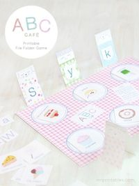Preschool Printable File Folder Games: Mr Printables