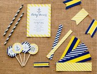 printable nautical baby shower designs for