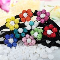 Add a splash of color and sparkle to your winter days with these Multi Color Shamballa Beaded Bracelets !!