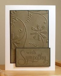 embossing folder simple My Stamping Addiction
