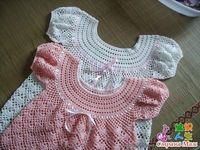 Precious Angel Dress free tutorial and crochet graph pattern
