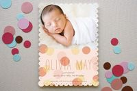 Minted: Spring Hatch Birth Announcements #baby