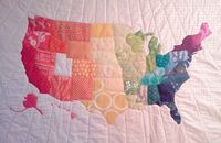 Crazy Old Ladies Quilts: Map Quilt