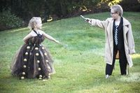 Doctor and Dalek girl. I can't handle this. IT'S SO CUTE.