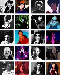 Posts Similar To 10 Great Disney Villians Their Voice