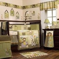 Green Baby Bedding & Crib Nursery Sets - Baby Bedding Bliss