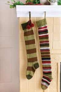 Churchmouse Yarns & Teas - Basic Christmas Stockings Pattern