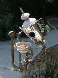 Coffee stand for the Birds...