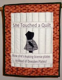 """She Touched a Quilt"". Photo by Karen Kay Buckley."