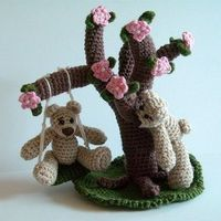 PDF Crochet Pattern A Day in the Park Part 1 by tildafilur, $4.50