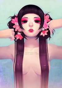 Free as my Hair by *mibou on deviantART