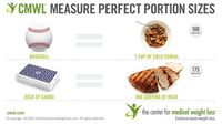 Click the image to download our complete list of recommended portion sizes!