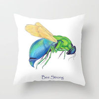 Bee Strong Pillow
