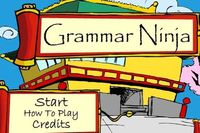 Grammar Ninja is VERY addicting with its video-game style. What a fantastic way to practice the parts of speech! Scroll down for the game.