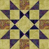 Providence Quilt Block - 12 1/2 inch