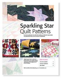 Free downloadable eBook of 3 star quilt patterns from McCall's Quilting.