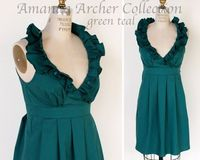 what a beautiful shade of teal. from the Amanda Archer collection