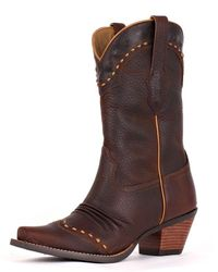 Ariat Women's Dixie Boot - Brown Oiled Rowdy