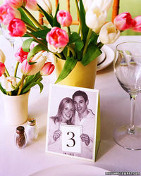 cards for receptions tables