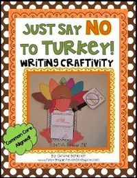 Fun Thanksgiving Writing Craftivity {Common Core Aligned}