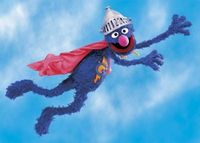 Super Grover. Seriously my first superhero love.