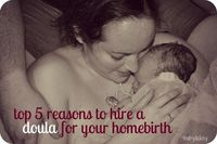 5 reasons to hire a homebirth doula