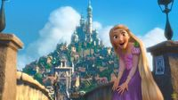 9. I would want to live in Rapunzel's kingdom because it is an island and everyone dances barefoot! and there are lots of flowers and floating lanterns :)