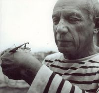 picasso. and preying mantis.