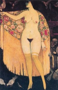 poboh: The Spanish Shawl by Kees van Dongen