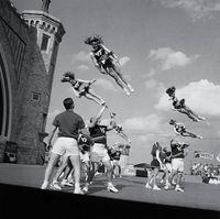 National Cheerleaders Convention, Daytona Beach, Florida photo by Toby Old, 1998