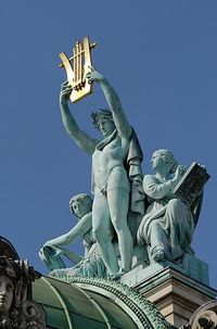 Sculpture on top of Opera Garnier | Paris