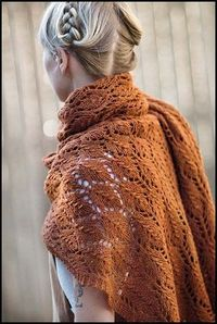shawl for the fall.