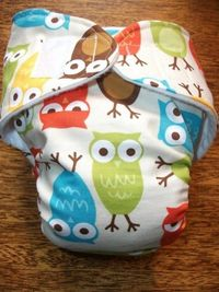 owl diapers.