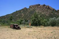 Lost Cabin Trail and M*A*S*H site (Malibu Creek State Park)