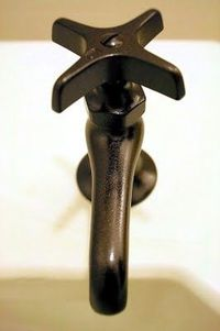 Painting faucets