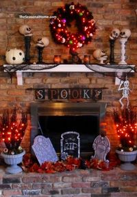 love everything about this fireplace!