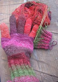 knit glove pattern