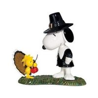 "Thanksgiving: Department 56 - ""Peanuts"" - Be Thankful"