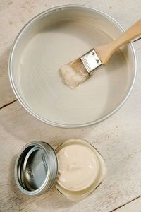 Home-made pan-release. 1/2 cup vegetable shortening 1/2 cup vegetable oil 1/2 cup all-purpose flour Whisk thoroughly until everything is incorporated and smooth. Store in airtight container at room temperature. To use, dip a pastry brush or impeccably cle...