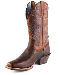 Ariat Women's Legend Boot - Brown Oiled Rowdy